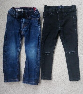 Boys Next Black Skinny Jeans Blue Jeans Age 3