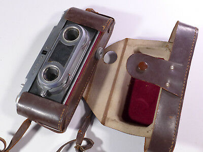 WIRGIN (Edixa) Stereo Camera with case - Germany 1954 - WM