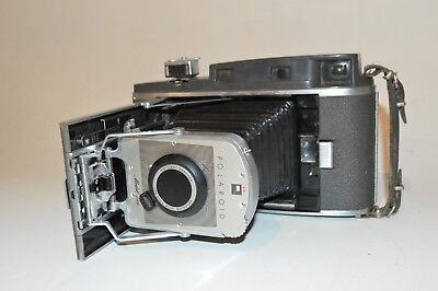 Vintage Polaroid 150 Land Camera with Wink Light & Meter