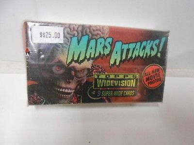 Mars Attacks widevision movie cards set 1990s