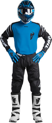 YOUTH Thor Sector Zones- Blue Gear Combo 24/Y-M Motocross ATV Offroad