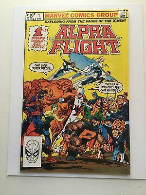 Alpha Flight #1 high grade comic book