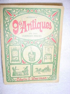 Cb-  Warman's 9Th Antiques 1968 Book