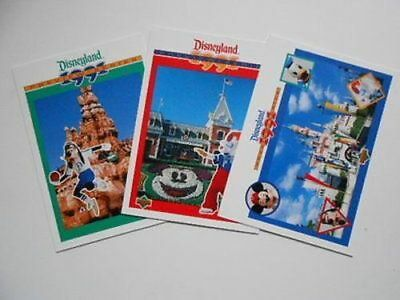 Disney limited issued 3 cards set 1990s