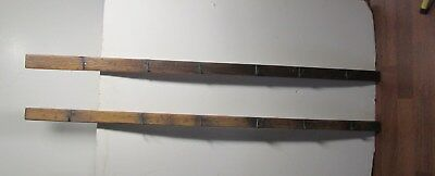 pr 4' antique primitive herb candle  tobacco meat drying rack circa 1840