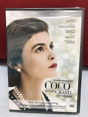 Coco Before Chanel New Sealed 2009 Dvd Free Media Shipping