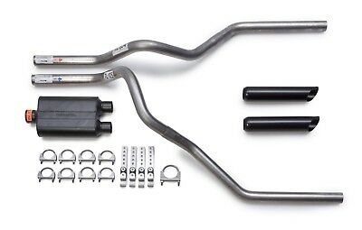 "Dodge Ram 1500 94-03 2.5/"" Dual Exhaust Kit Flowmaster Super 44 Clamp Tip Side"