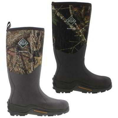Muck Boots Woody Max Mens Neoprene Wellington Camouflage Wellies Size 7-11