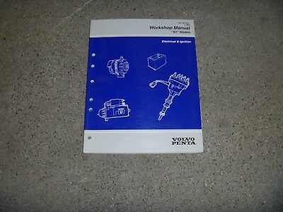 Volvo Penta 3.0GS 4.3GL 4.3GS 4.3GI BY Electrical Wiring Diagram Service Manual