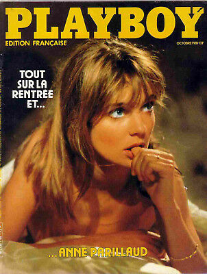 Playboy 10/1981 Anne Prillaud