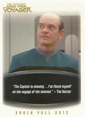 Quotable Star Trek Voyager - P2 Non-Sport Update Promo Card