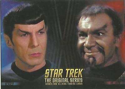 Star Trek Original Series TOS Heroes & Villains: P2 Non-Sport Update Promo Card