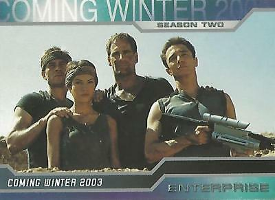 Star Trek Enterprise Season 2 - Promo Card P1