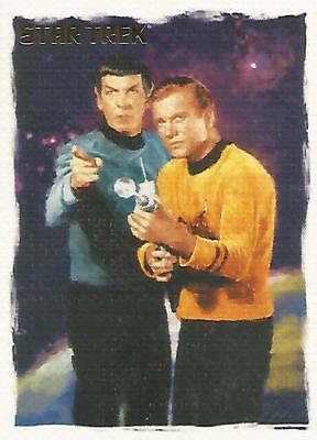 Star Trek Original Series TOS Art & Images - P2 Non-Sport Update Promo Card