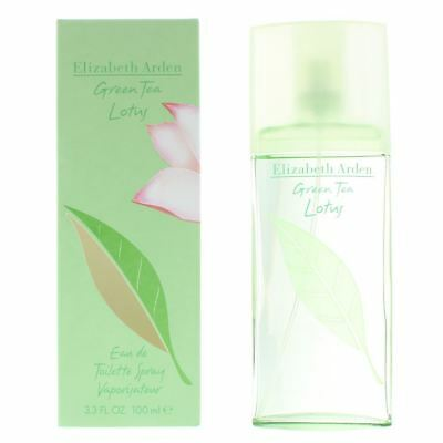 Elizabeth Arden Green Tea Lotus Eau de Toilette 100ml Spray Women's - NEW. EDT
