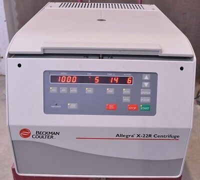 Beckman Coulter Allegra X-22R Benchtop Refrigerated Centrifuge
