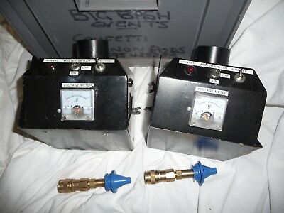 Electrical test meters PAIR in grey box ?????????? any ideas