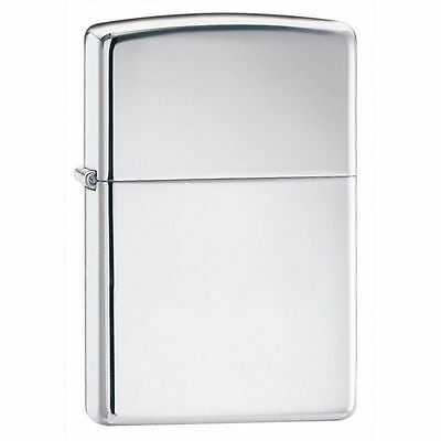 "Zippo ""Armor"" High Polish Chrome Finish Lighter, Full Size, 167"