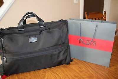 b1326fdd6d94 NWT TUMI TRI-FOLD Carry-On Alpha 2 Garment Bag -  329.99