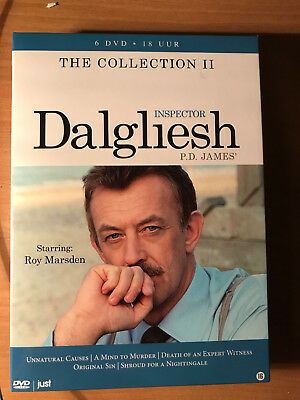 p d james the collection vol 1 adam dalgliesh 7 dvd set 20 00