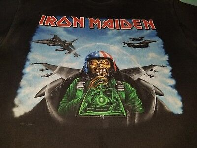 Iron Maiden Texas 2010 The Final Frontier Tour Shirt Nice Soft Faded Heavy Metal