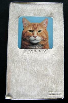 MORRIS the CAT 9 Lives Cat Food Advertising Pad & Pencil in Plastic Case