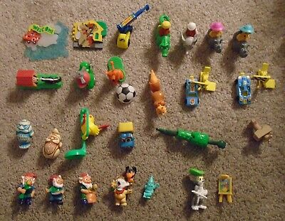25 different Kinder Egg Toys Collection-from late 1990's:Hardplastic/handpainted