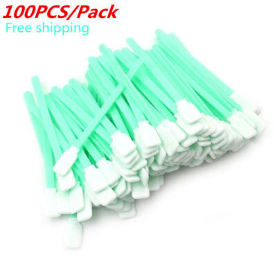 100 pcs Foam Cleaning Swabs for Epson / Roland / Mimaki / Mutoh Inkjet Printers
