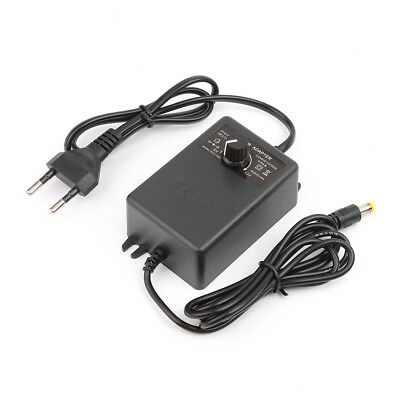 3-12V 2A Adjustable Power Supply Adapter For Motor Speed Controller EU Plug