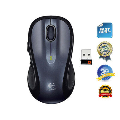 2c2a6ca7508 Logitech M510 Wireless Laser Mouse with Unifying USB Receiver 910-001822