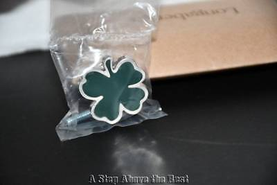 Longaberger Shamrock Knob #23282 NEW