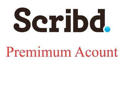 NEW Scribd Premium Account Unlimited Access + More Great Services + Full support