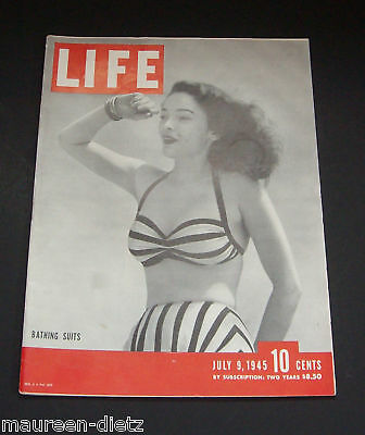 July 9, 1945 LIFE Magazine Historical Ads 40s Advertising ads ad FREE SHIPPING 7