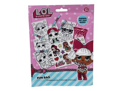 RMS Pack Of 12 - LOL Surprise Fun Surprise Party Bags - Girls Parties (HL137)