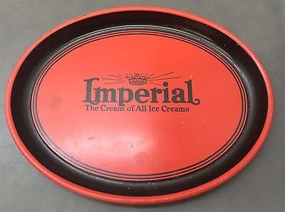 1940's Imperial Ice Cream Tray Parkersburg WV Advertising Litho
