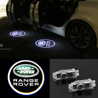 Range Rover LOGO LED PUDDLE PROJECTOR GHOST DOOR LIGHTS FOR Land Rover 2010-2017