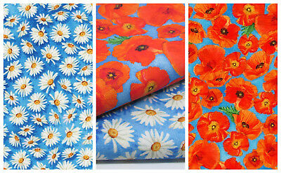 VIBRANT GARDEN by Robert Kaufman 100% cotton fabric - per FQT floral