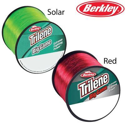 Berkley Trilene Big Game Mono Sea Beach Fishing Line Solar Green Or Red