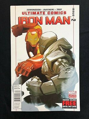 Ultimate Iron Man 2 2012 Newsstand Variant NM/NM+ Marvel Comics