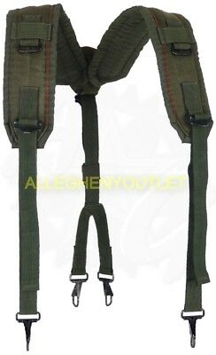 US Military Alice Y SUSPENDERS LBE Load Bearing Shoulder Web Harness OD NEW