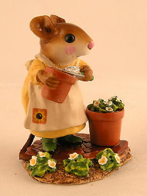 Wee Forest Folk PATIENT LUCY, WFF# M-237, SUNFLOWER PATCH, WTCA Exclusive Mouse