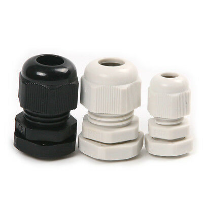 Nylon PG11 PG7  Plastic Waterproof Cable Gland Connector 3.5~6mm 4-8mm Range