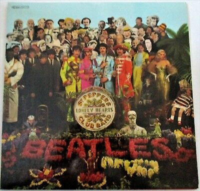 The Beatles Sgt.Peppers Lonely Hearts Club Band APPLE Pathe-Marconi France issue