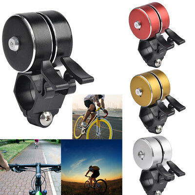 120dB Electric Bell Cycling Loud Bike Horn Bicycle Handlebar Double Bell Alarm
