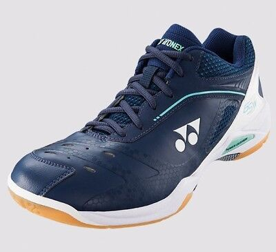 New 2018 Yonex Power Cushion 65 Z Wide Toe Shb-65Zw Men Badminton Shoe Dark Navy