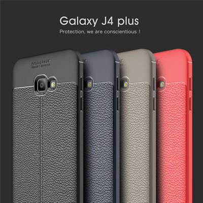 For Samsung Galaxy J4 J6 Plus J7/8 2018 Shockproof Soft Silicone Back Case Cover