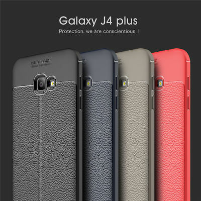 For Samsung Galaxy J4 Plus/J6 Plus 2018 Shockproof Soft Silicone Back Case Cover
