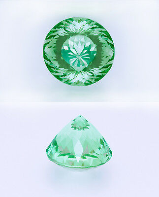 Utmost Rarity: 1.81ct Prismatine. World's 2nd Largest. Only 2 ever GIA Certified