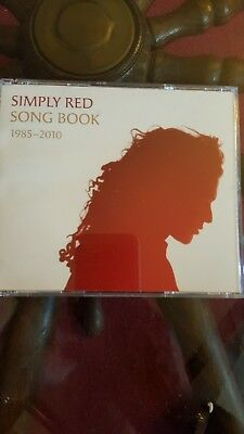 SIMPLY RED - SONG BOOK 1985-2010 -  [ 4 CD Box Set  ] GREATEST HITS / with book