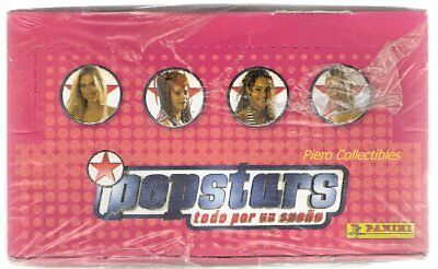 Popstars Photo Karten - Box 36 Beutel - Panini